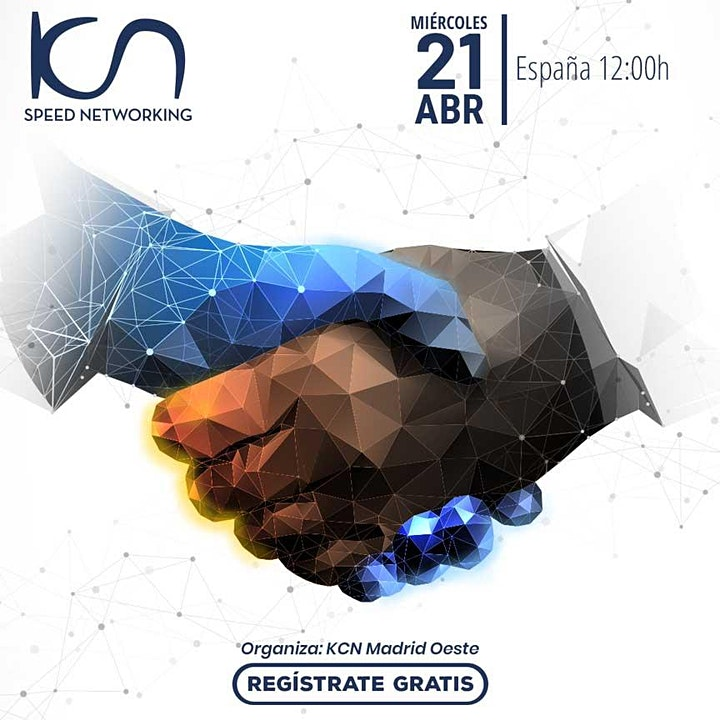 Imagen de KCN Madrid Oeste Speed Networking Online 21Abr