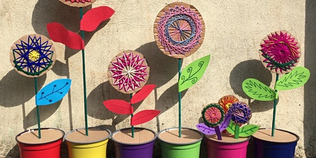 Woven Flowers workshop with Colourful Minds  Age 5-95 tickets