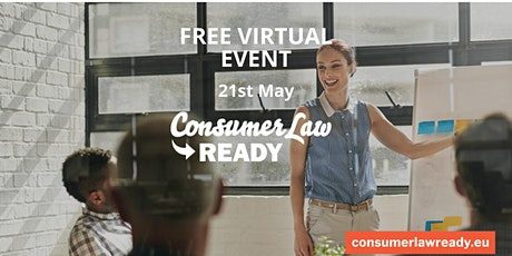 FREE  Virtual Consumer Law Training 21st May for  Irish Businesses tickets