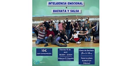 Taller grupal: Inteligencia emocional + Bachata y Salsa tickets
