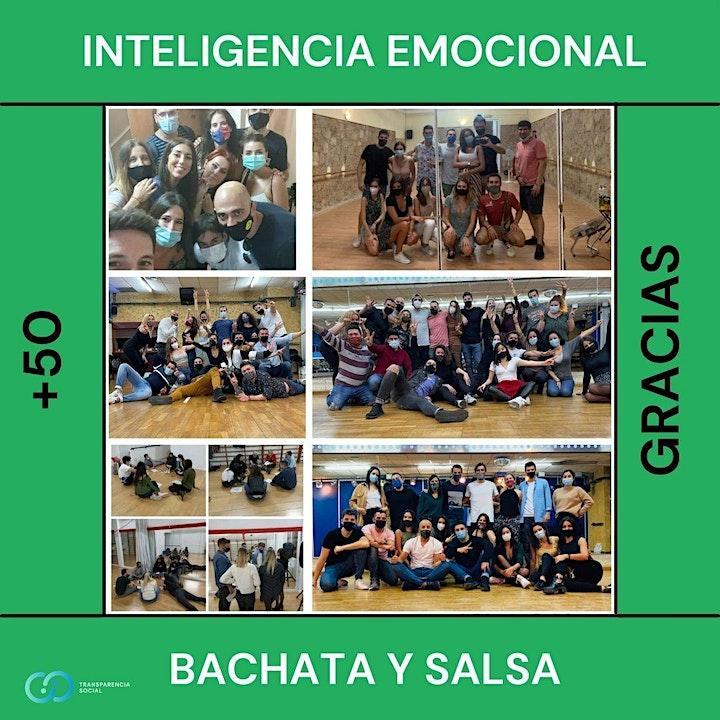 Imagen de Taller grupal: Inteligencia emocional + Bachata y Salsa