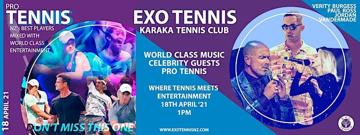 "Exo Tennis: ""Where Professional Tennis meets Entertainment"" image"