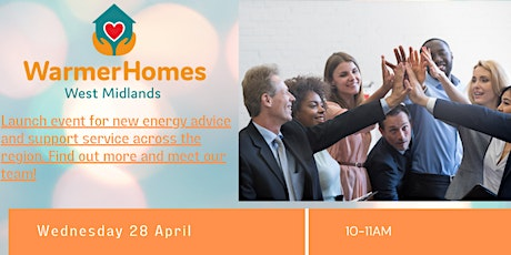 Warmer Homes West Midlands launch event tickets