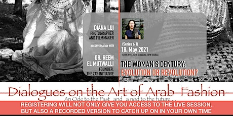 6.1 DIALOGUES ON THE ART OF ARAB FASHION: THE WOMAN'S CENTURY tickets