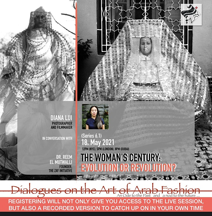 6.1 DIALOGUES ON THE ART OF ARAB FASHION: THE WOMAN'S CENTURY image