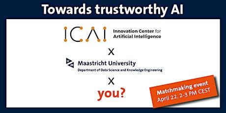 Matchmaking event LTP – Trustworthy Artificial Intelligence- based Systems biglietti
