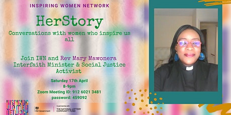IWN's HerStory: Mary Mawonera (ALL welcome) tickets