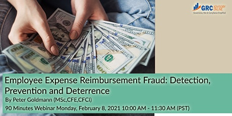 Employee Expense Reimbursement Fraud: Detection, Prevention and Deterrence tickets