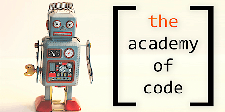 Learn to Code with the Academy of Code : Ages 11-13 tickets