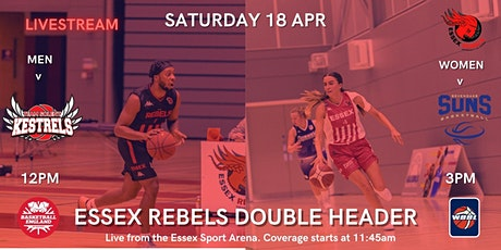 ESSEX REBELS DOUBLE HEADER- Men v Solent Kestrels, Women v Sevenoaks Suns tickets