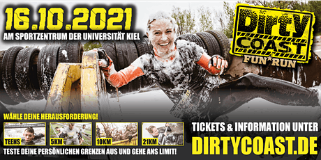 Dirty Coast™ FUN RUN 2021 / Kiel Tickets