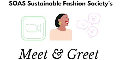 Sustainable Fashion Society Meetup tickets