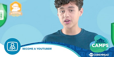 Become a YouTuber Summer Camp tickets