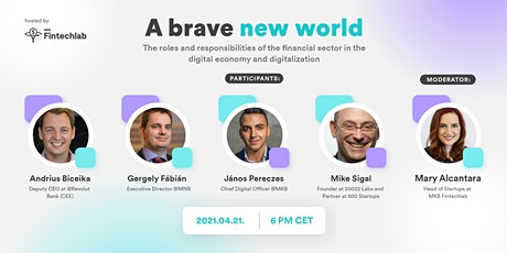 Role and responsibility of the financial sector in the digital economy Tickets