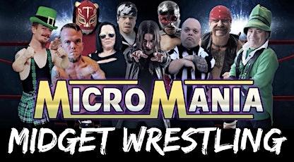 MicroMania Midget Wrestling: Bristol,TN at Thunder Valley Tavern tickets