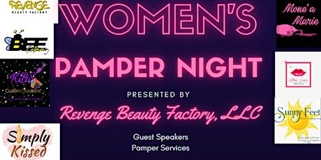 Revenge Beauty Factory Presents: Women's Pamper Night tickets