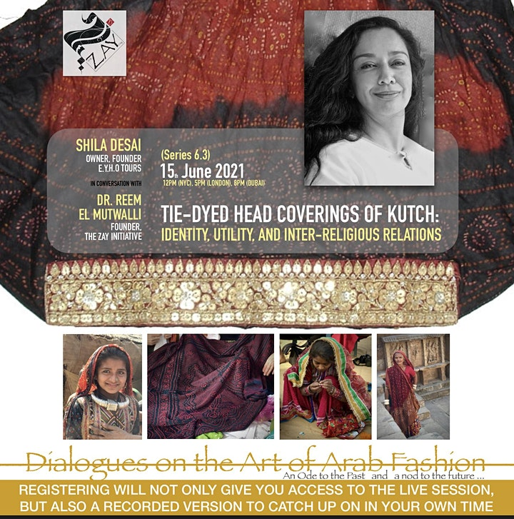 6.3 DIALOGUES ON THE ART OF ARAB FASHION: TIE-DYED HEAD COVERINGS OF KUTCH image