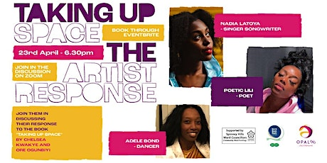 Taking Up Space - The Artistic Response tickets
