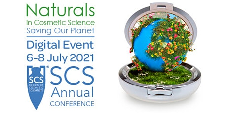 Naturals in Cosmetics Science Conference bilhetes