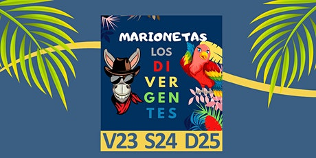 """MARIONETAS  """"Los Divergentes , la pandilla crece"""" entradas"""