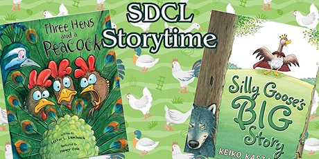 SDCL Story Time tickets