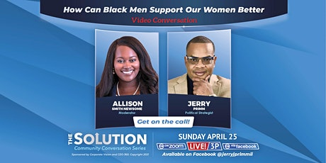 How can Black Men Support Our Women Better? tickets