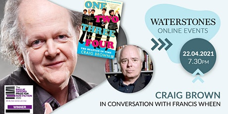 One, Two, Three, Four: Craig Brown in conversation with Francis Wheen tickets