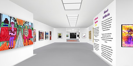 ArtWorks Together 2021 Digital Event #1 - Guided Tour of the Exhibition tickets