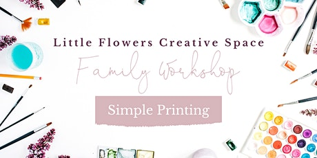 Family Creative Space Workshop - Styrofoam Printing tickets