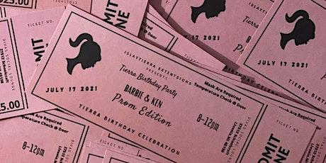 Barbie & Ken Adult Prom tickets