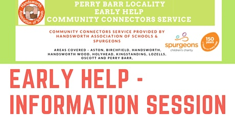 Early Help- Community Connectors Information Session 14th April tickets