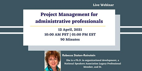 Project Management for administrative professionals tickets