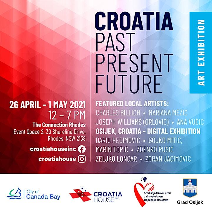 Croatia Past Present Future Art Exhibition image