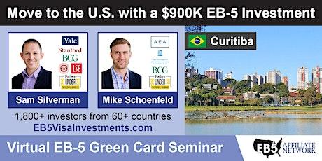 U.S. Green Card Virtual Seminar – Curitiba, Brazil ingressos