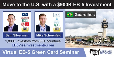 U.S. Green Card Virtual Seminar – Guarulhos, Brazil tickets