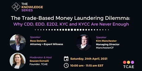 The Trade-Based Money Laundering Dilemma tickets