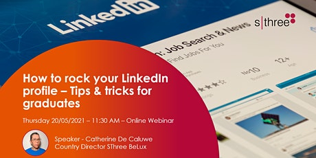 How to rock your LinkedIn profile – Tips & tricks for graduates biglietti