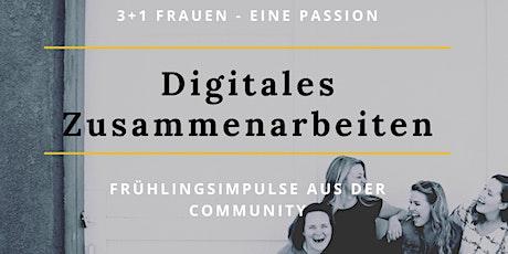3+1 Frauen - eine Passion: Digitales Zusammenarbeiten Tickets