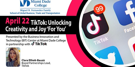 TikTok - Unlocking creativity and joy 'For You' tickets
