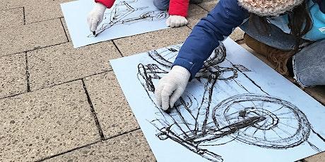 Outdoor-Zeichenkurs | Echte Fahrzeuge skizzieren | Für 6- bis 10-Jährige Tickets