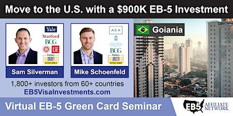 U.S. Green Card Virtual Seminar – Goiania, Brazil tickets