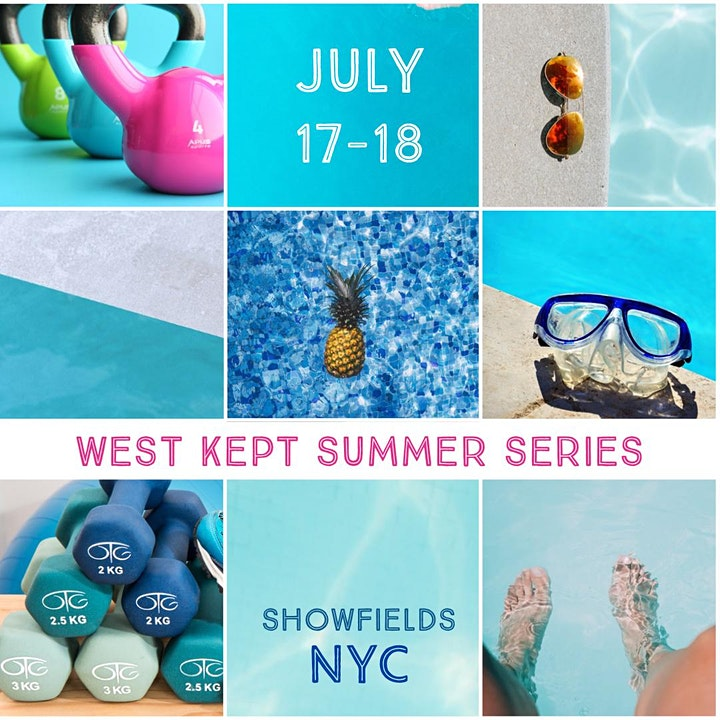 West Kept Summer Series - NEW YORK CITY Day 1 Session 3 11:30am-12:30pm image
