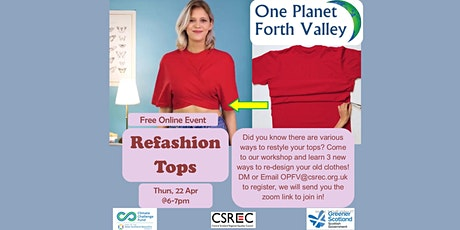 Refashion your Tops tickets