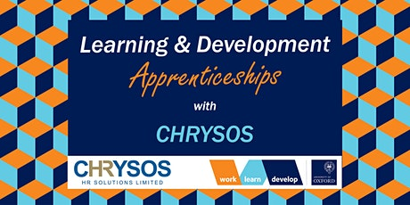 Learning & Development Apprenticeships with Chrysos | Apprenticeship Expo tickets