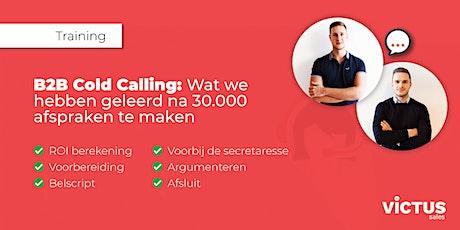 B2B Cold Call Training: Wat we geleerd hebben na 30.000 afspraken te maken billets
