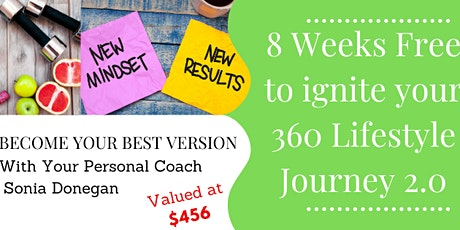 WIN 8 weeks FREE online Personal Lifestyle Coaching tickets