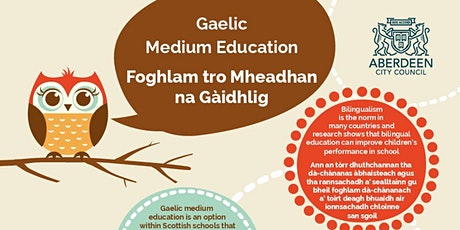 Gaelic Medium Education: Content-Based Language Learning tickets