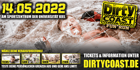 Dirty Coast™ FUN RUN 2022 / Kiel Tickets