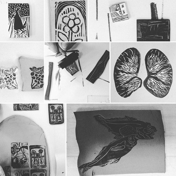 Printmaking on Ceramics Intermediate - Marianne Chenard image