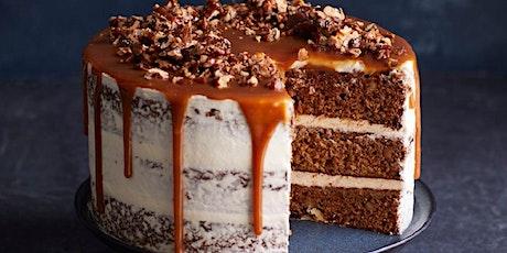 CELEBRATING EID:  DATE & WALNUT CAKE DECORATING COOK ALONG - FREE tickets
